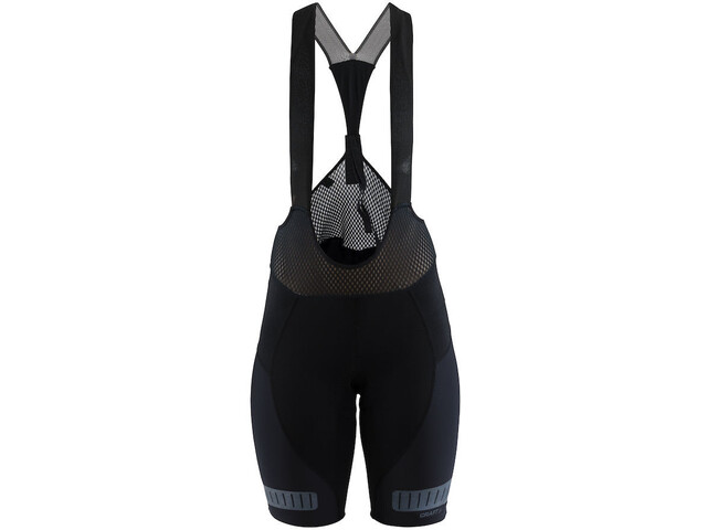 Craft Hale Glow Bib Shorts Damen black